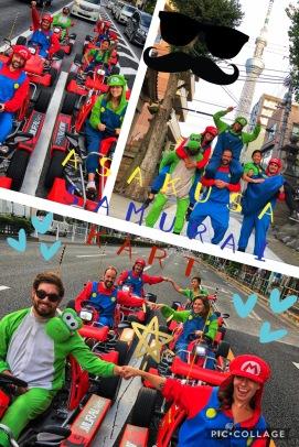 Super Mario Kart Tokyo group