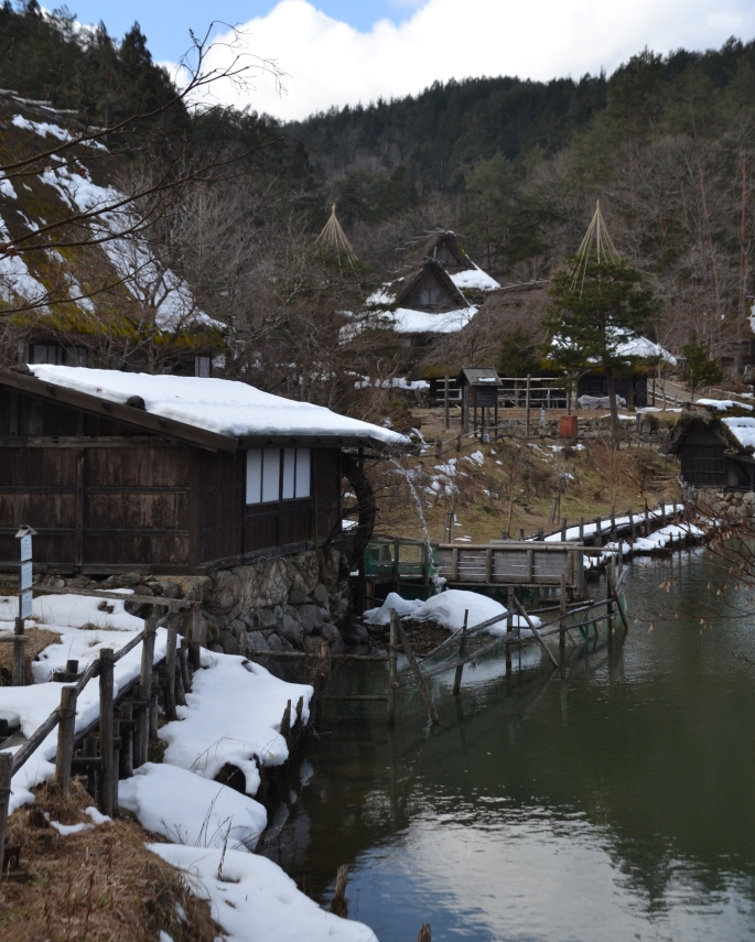 Japan bezoeken in de winter. Takayama