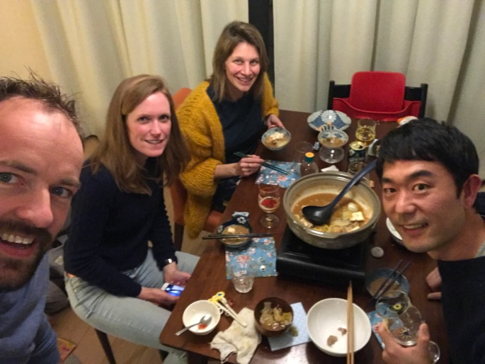 Japanse hotpot. Nabe