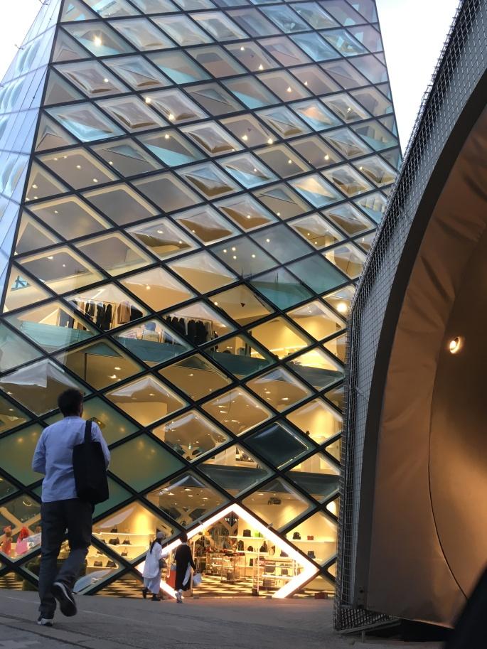 Tokyo architecture Prada shop 2