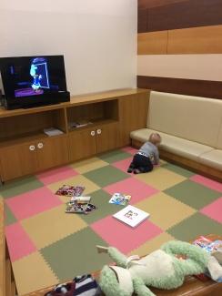 Tokyo Ginza mall nursery