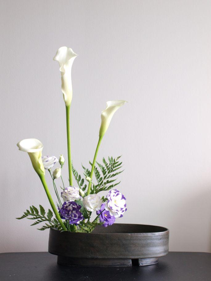 Ikebana moribana stijl