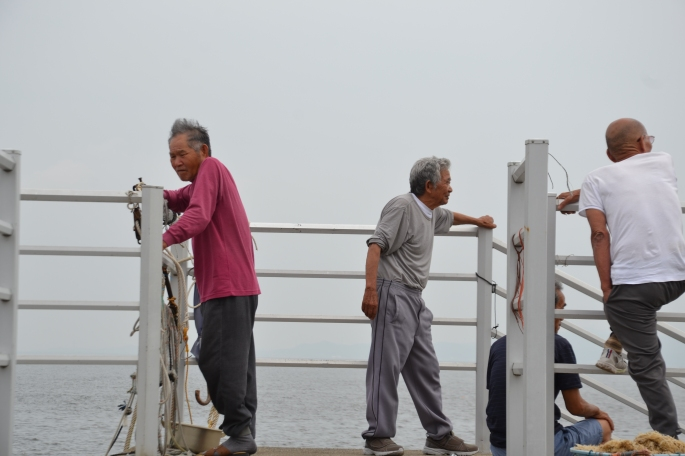 Himakajima fishermen
