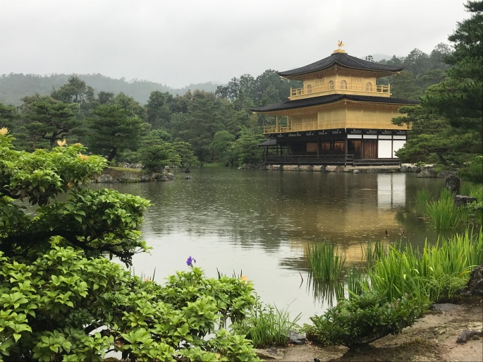 The golden pavillion 'Kinkaku-ji'